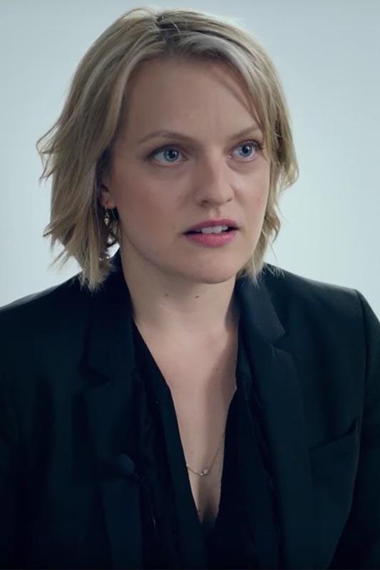 """Elisabeth Moss dans le film """"The Square"""" deRuben Östlund"""