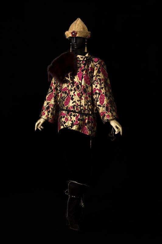 Ensemble de soir, collection haute couture automne-hiver 1977 © Musée Yves Saint Laurent Paris,Sophie Carre