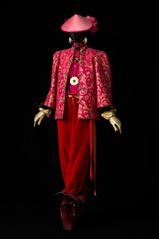 Ensemble du soir, collection haute couture automne-hiver 1977 © Musée Yves Saint Laurent Paris,Sophie Carre