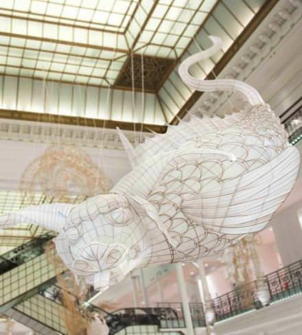 L'exposition Ai Weiwei au Bon Marché. © Gabriel de la Chapelle