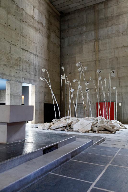 "Anselm Kiefer, ""Résurrection"" (2019). Photo : Anselm Kiefer/Jean-Philippe Simard."