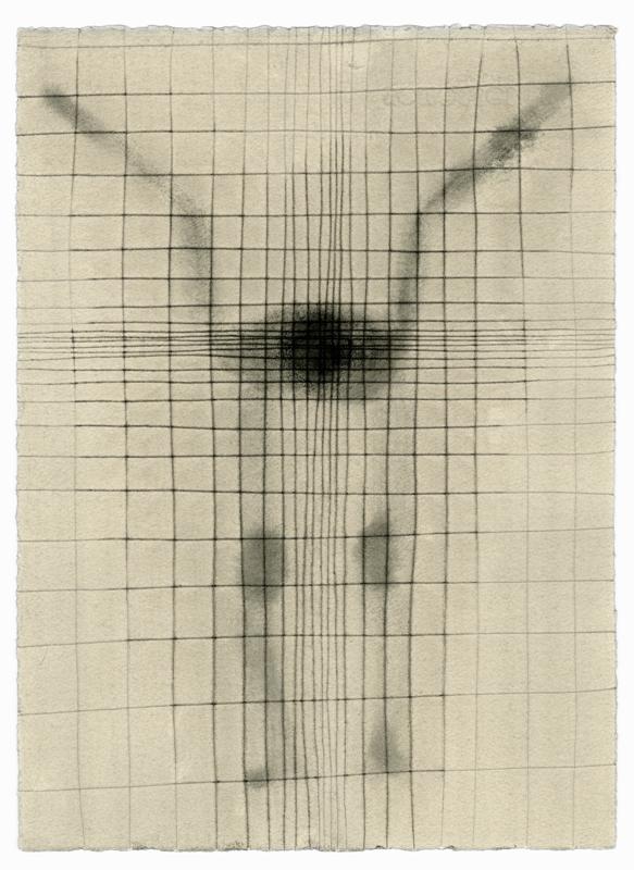 "Antony Gormley, ""SET V"" (2018).Carbon and casein on paper.Courtesy Galerie Thaddaeus Ropac, London • Paris • Salzburg Photos: Stephen White, London© Antony Gormley"