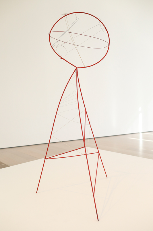 "Alexander Calder, ""Sphere Pierced by Cylinders""(1939)© Belén de Benito"