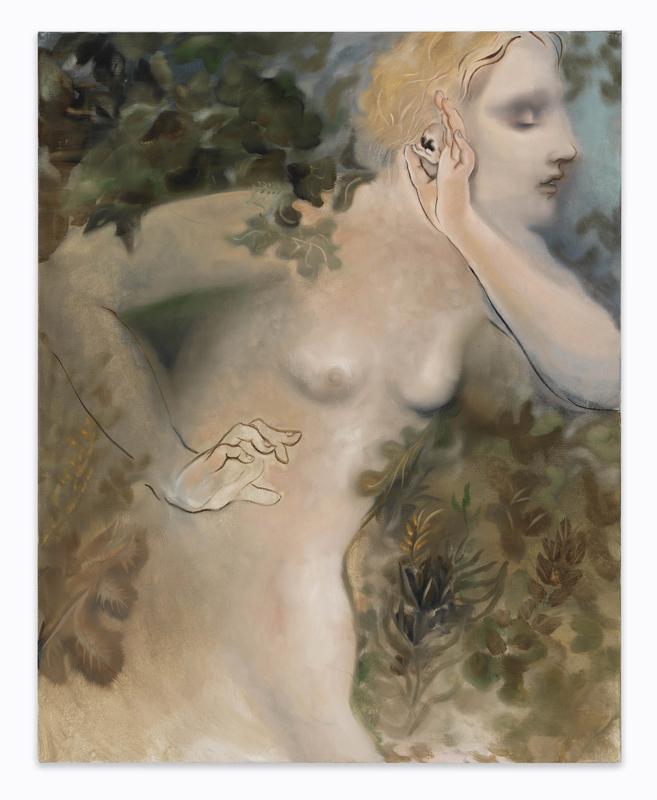 "Autumn Ramsey, ""Leaf"" (2019).Photo: Tom Van Eynde.Courtesy of the artist and Crèvecœur, Paris"