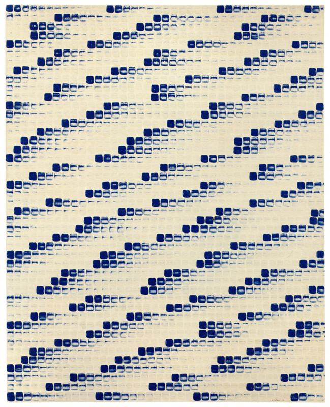 "Lee Ufan, ""From Point"" (1976) © Studio Lee Ufan. Courtesy the artist and Kamel Mennour, Paris/London © ADAGP Paris, 2018"