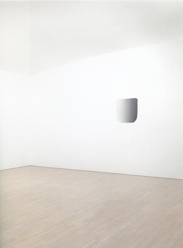 "Lee Ufan, ""Dialogue""(2010) © Adagp, Paris 2018"