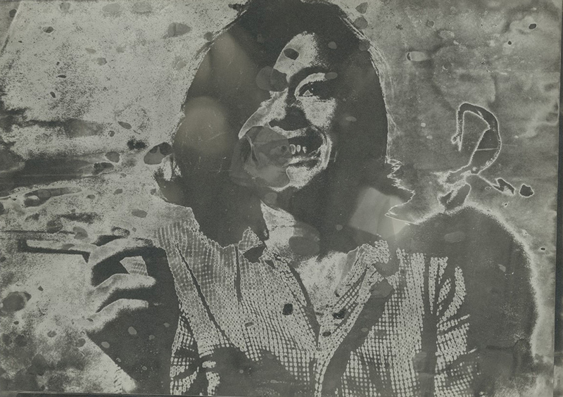 "Sigmar Polke, ""Sans titre (Hannelore Kunert)""(1970-1980), Collection de Georg Polke © The Estate of Sigmar Polke, Cologne/ ADAGP, 2019"