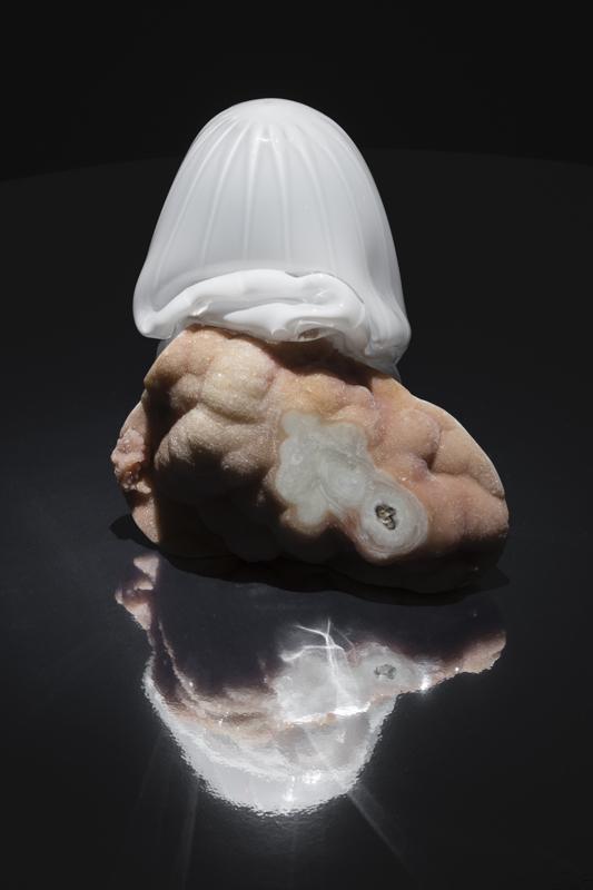 "Rachel Rose, ""SecondBorn"" (2019)pierre et verre. Courtesy of the artist. Photo: Andrea Rossetti."