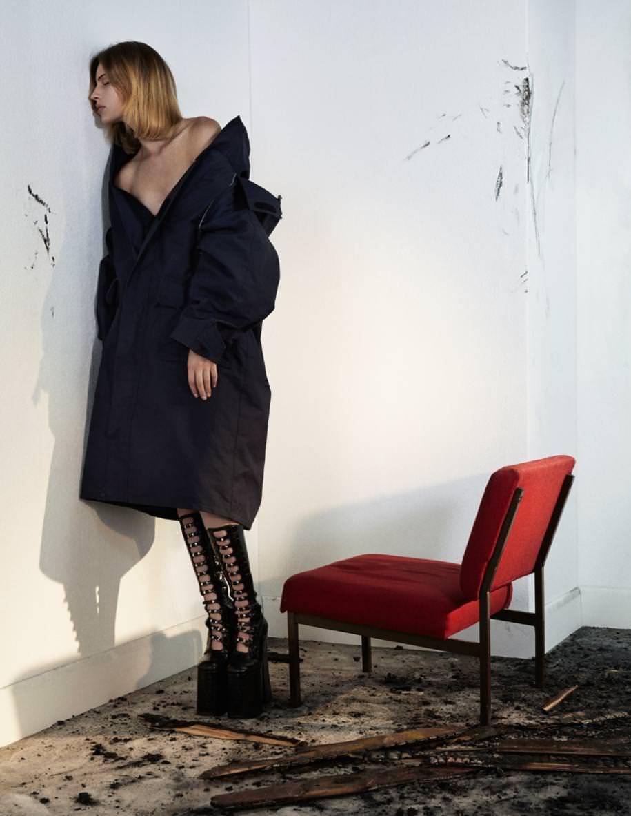 """""""Jeu dangereux"""": une série mode exclusive de Katja Mayer"""