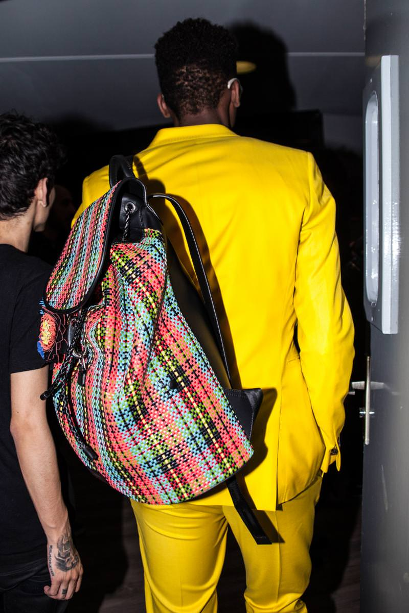 Backstage : le défilé Paul Smith printemps-été 2017