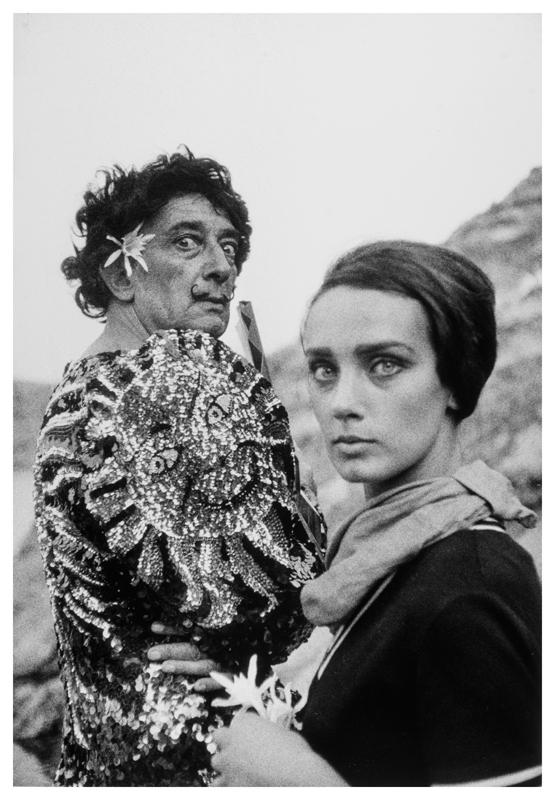 Dalí y Modelo © Joana Biarnés.