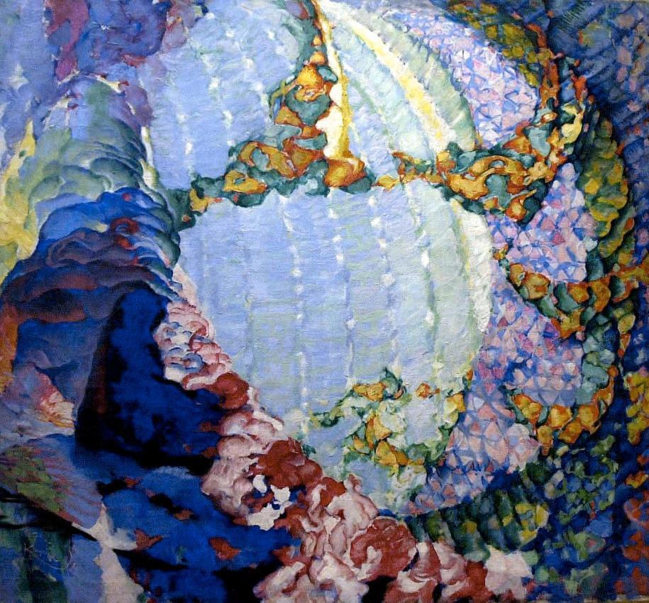 Printemps cosmique I de František Kupka, 1913-1914.  Huile sur toile, 115 × 125 cm Prague, Národní Galerie v Praze © Adagp, Paris, 2016 akg-images / Universal Images Group / Sovfoto \ UIG