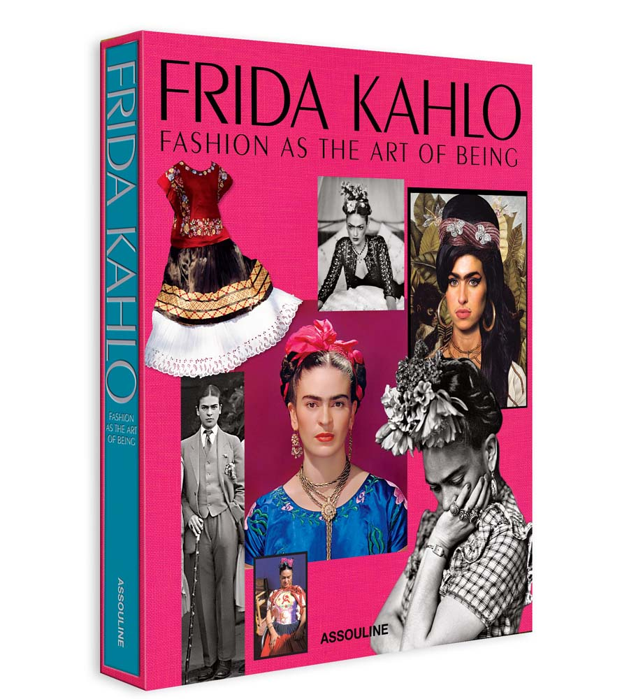 Frida Kahlo: Fashionas the art of being's cover,Assouline editions.