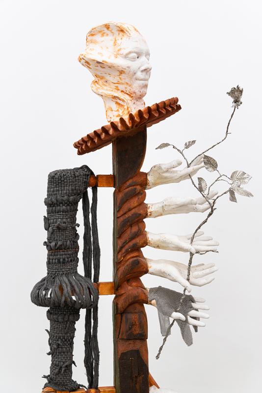 """Nils Alix-Tabeling, vue de l'exposition """"Ecce Puer"""" à la galerie Pact.Photo © Gregory Copitet"""