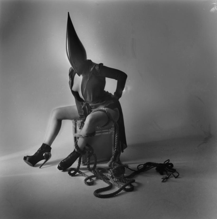 Paulina Otylie Surys,England Fallen. Working with Gareth Pugh CourtesyNUE galerie.