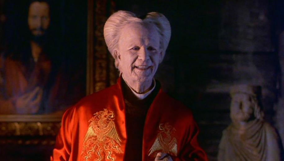 "Gary Oldman en compte Vlad Tepes dans ""Dracula' de Francis Ford Coppola."