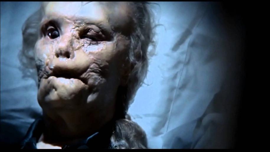 """Gary Oldman en Mason Verger dans """"Hannibal' de Ridley Scott."""