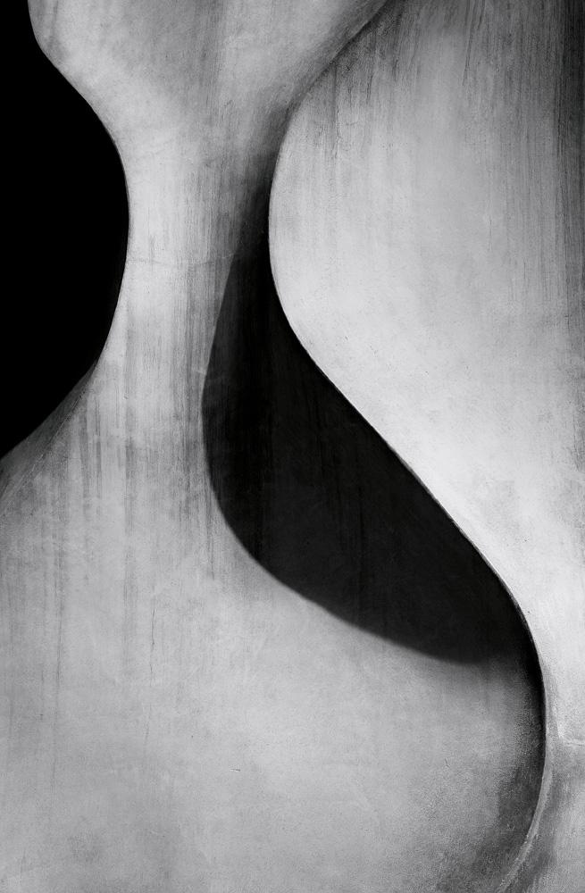 """Gaudí 005""(2018). Impression sur aluminium."