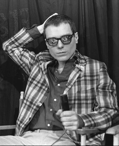 Glenn O'Brien in TV Party in 1979.