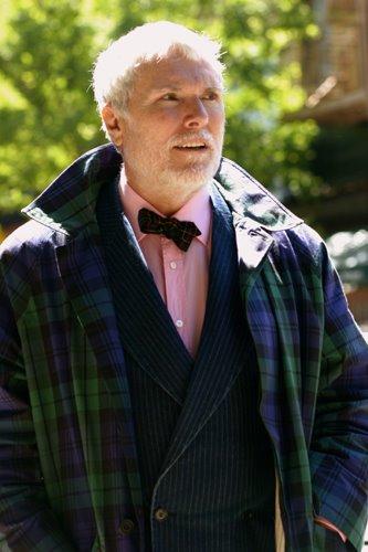 Glenn O'Brien par Scott Schuman pourwww.thesartorialist.com