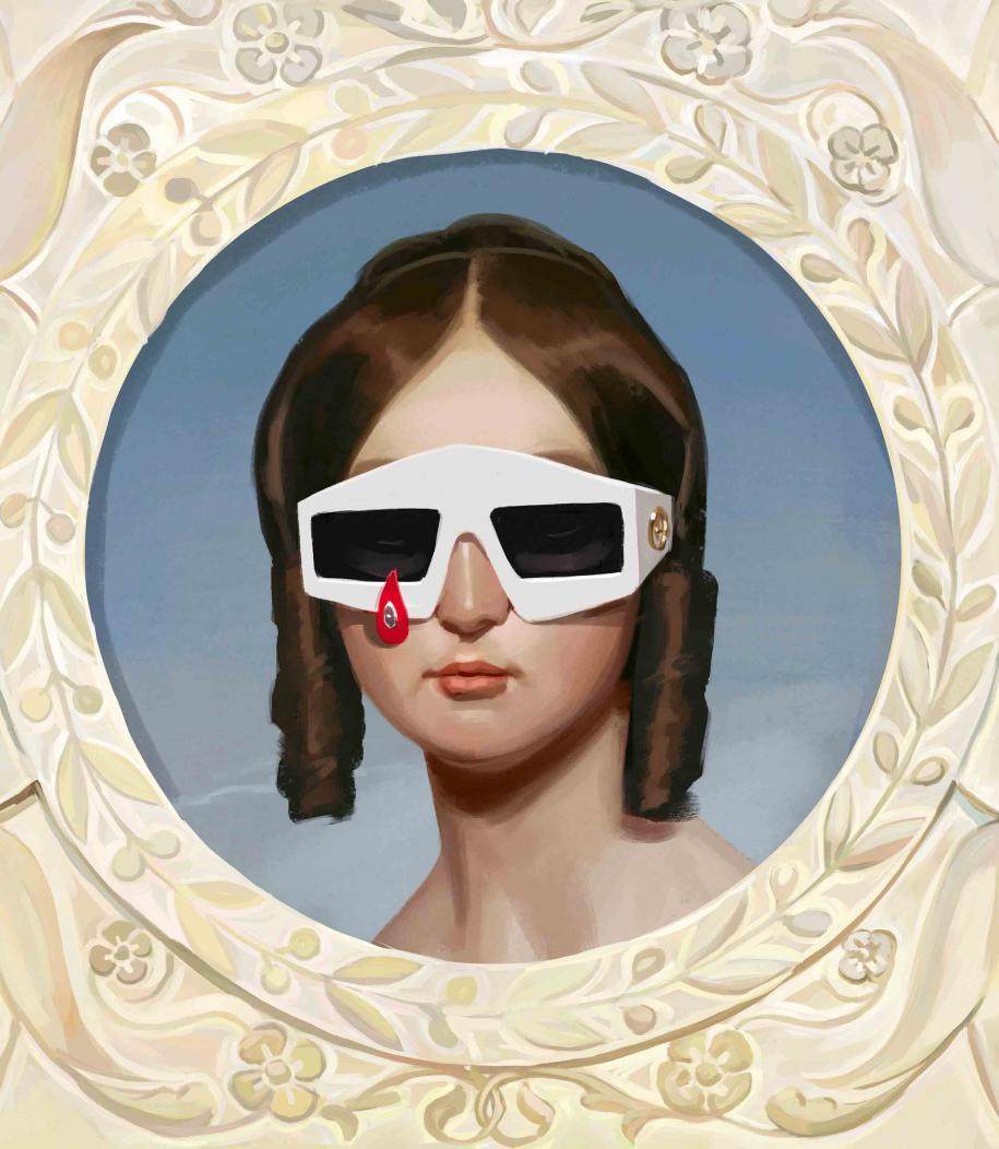 Illustrationdigitaleréalisées autour de la collection printemps-été 2018 de Gucci par le jeune artiste espagnol Ignasi Monreal.