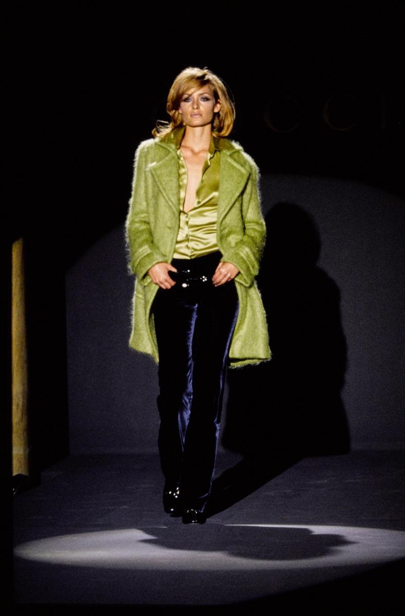 La première collection de Tom Ford pour Gucci, saison automne-hiver 1995