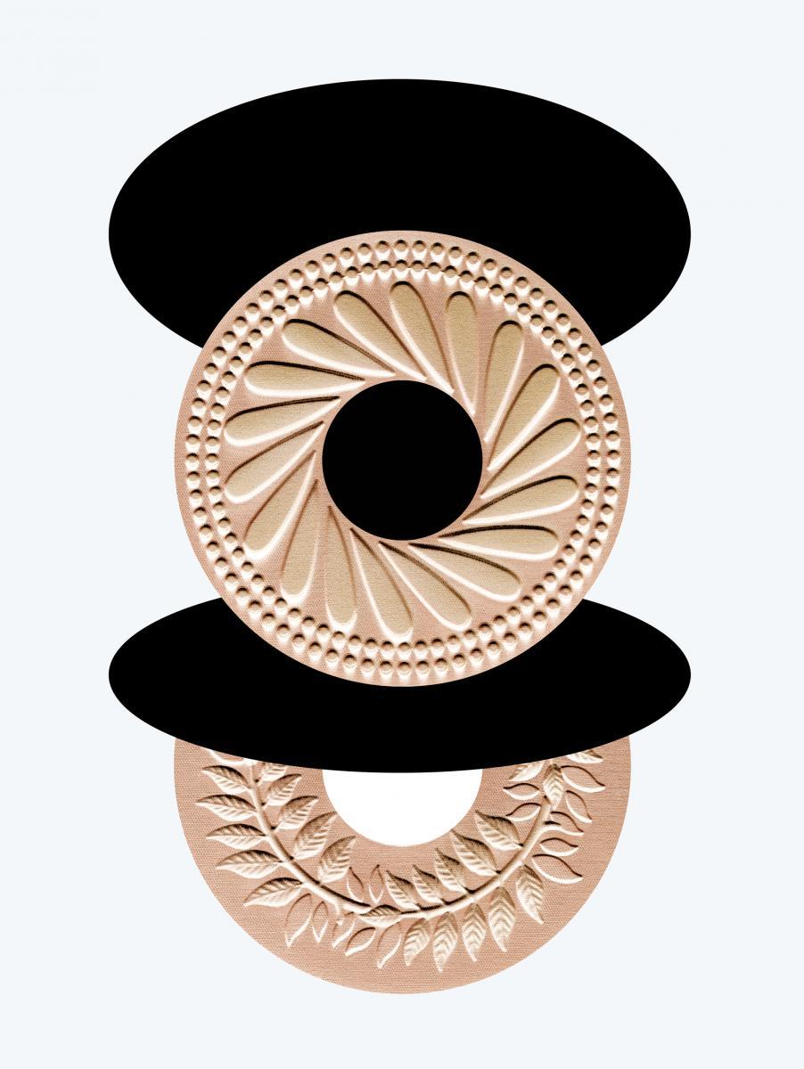 """Terracotta XL Collector"", Hestia island et Thalia island, été 2019, GUERLAIN(en édition limitée)."