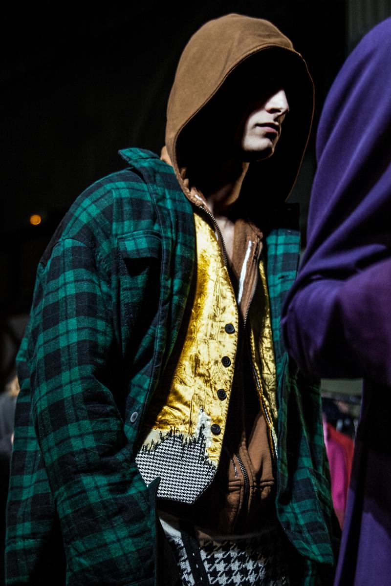Backstage: Haider Ackermann fall-winter 2017 show seen by Mehdi Mendas