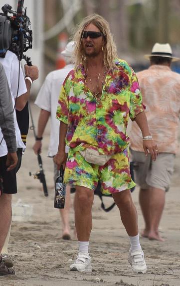 "Matthew McConaughey sur le tournage de ""The Beach Bum"" de Harmony Korine"