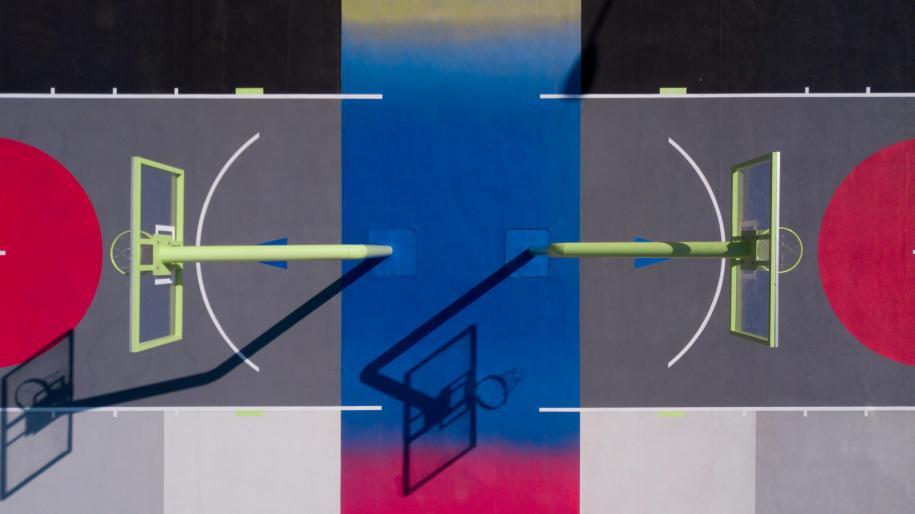 Le terrain Nike x Pigalle de Mexico