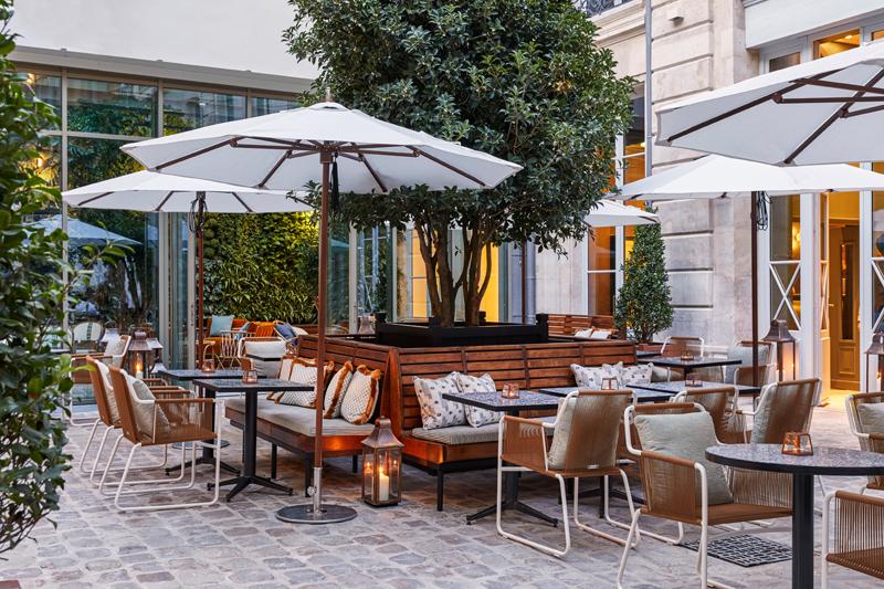 Le patio de l'Hôtel Hoxton, 75002