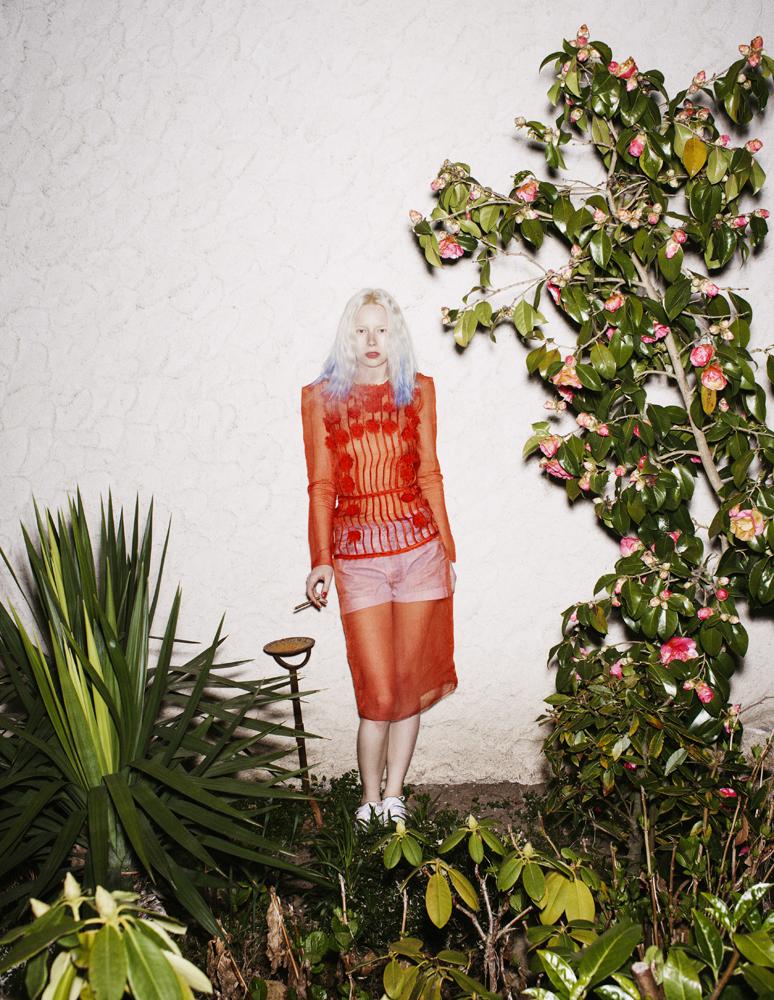 Martine Sitbon pour Rue du Mail Automne-hiver2011-2012, photographe C.G. Watkins (Novembre Magazine) © C.G. Watkins