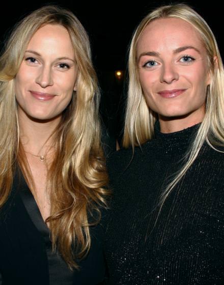 Claire et Virginie Courtin-Clarins