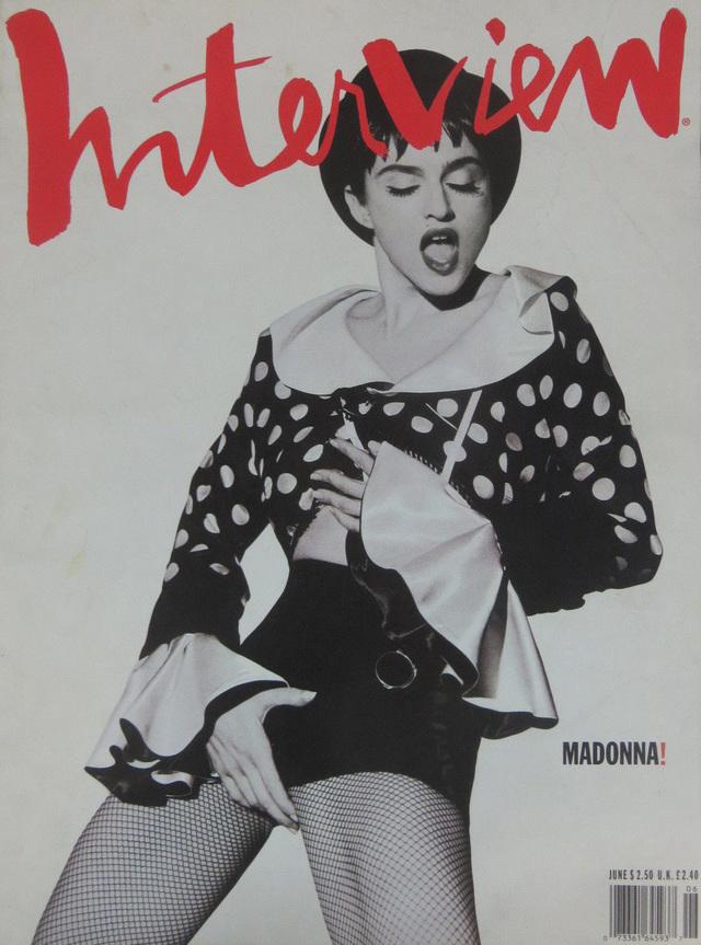 Madonna par Herb Ritts en 1990