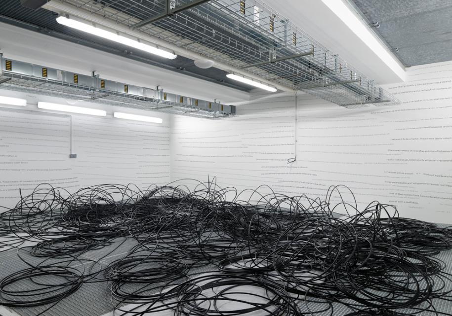 Jason Matthew Lee,Tragic Venus, 2017, exhibition view, CELESTE - Data Center Marilyn, Champs-sur-Marne. Courtesy the artist and Crèvecoeur, Paris. © Aurélien Mole