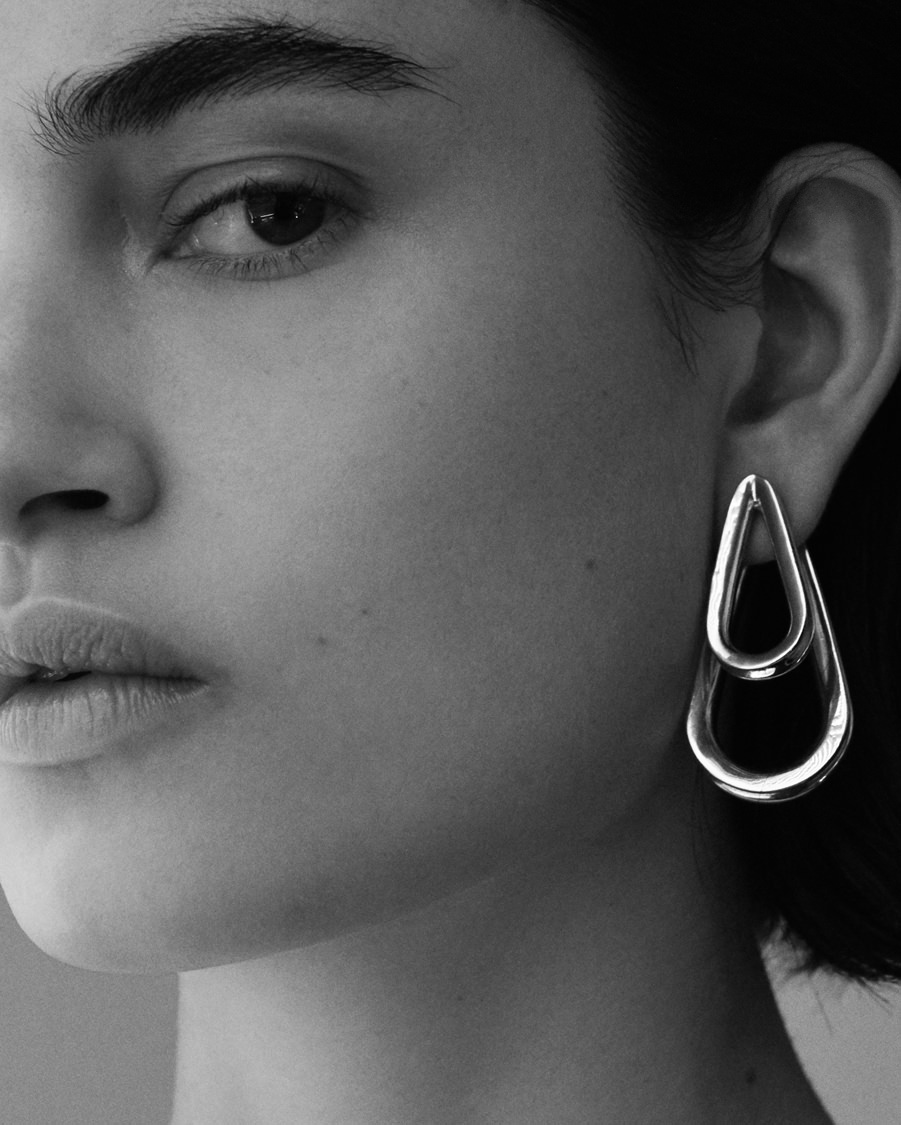"""Ellipse"", Annelise Michelson's new collection with futurist overtones"