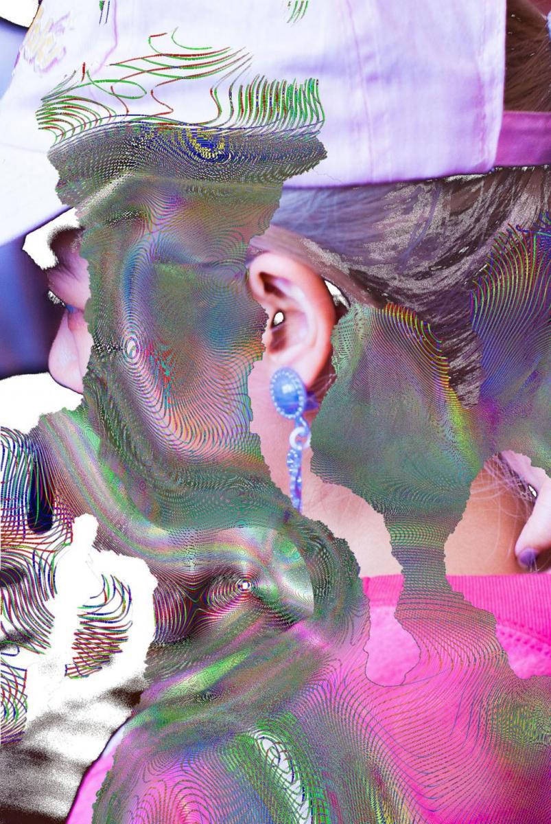 """""""Pink and Blue"""", #blur #sharpness, Kenta Cobayashi, 2016."""