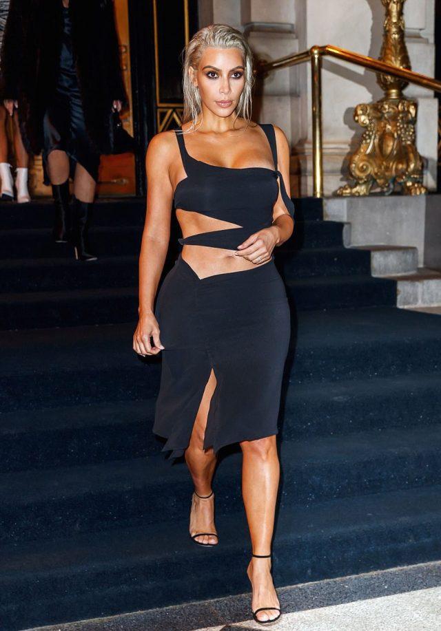 Kim Kardashian en Gucci par Tom Ford