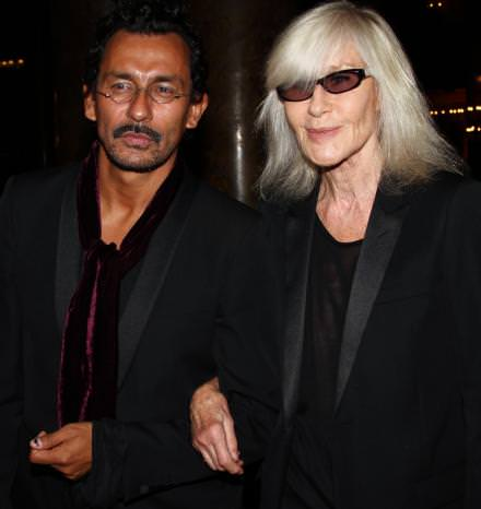 Haider Ackermann et Betty Catroux