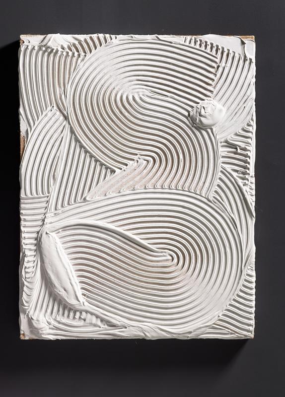 """Vue de l'exposition """"Florian et Michael Quistrebert. Zigzag""""au CCC OD, 2019 © F. Fernandez - CCC OD, Tours. Courtesy des artistes et Crèvecoeur, Paris."""