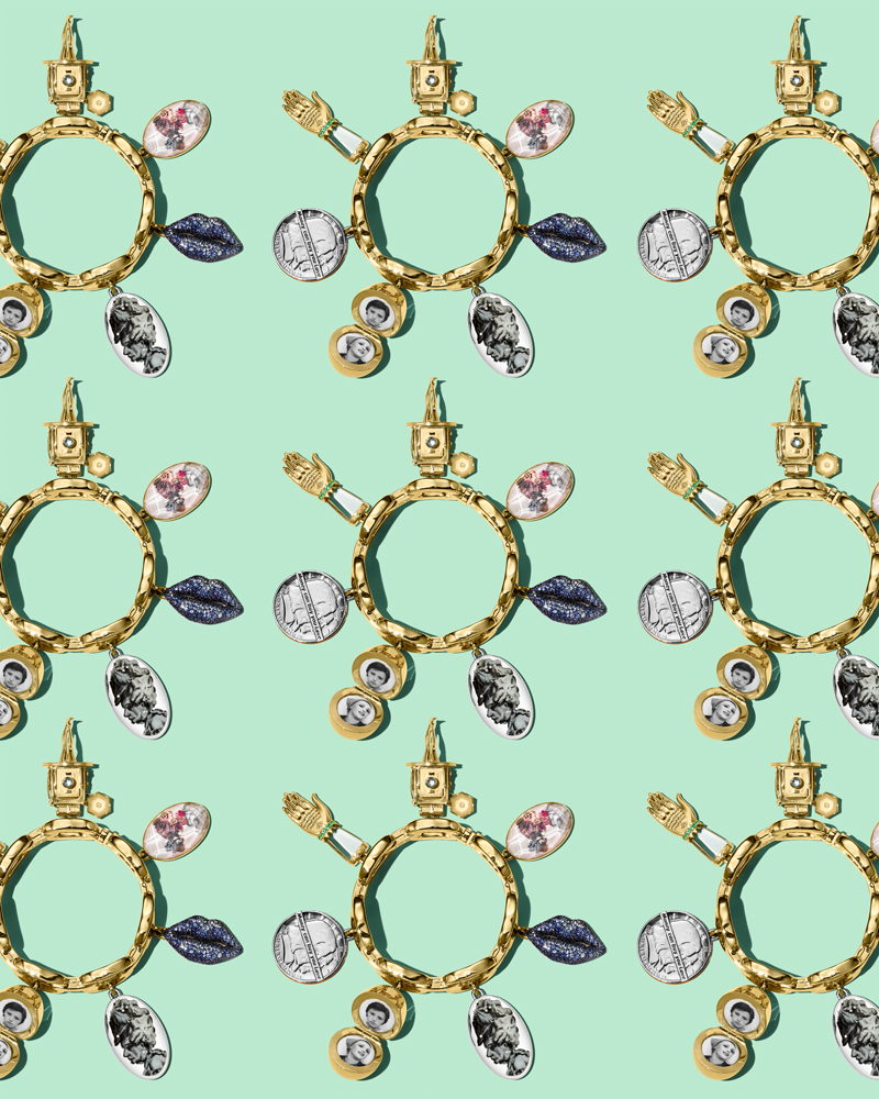 """L'art contemporain s'invite sur le bracelet """"Charmed"""" par LizWorks"""