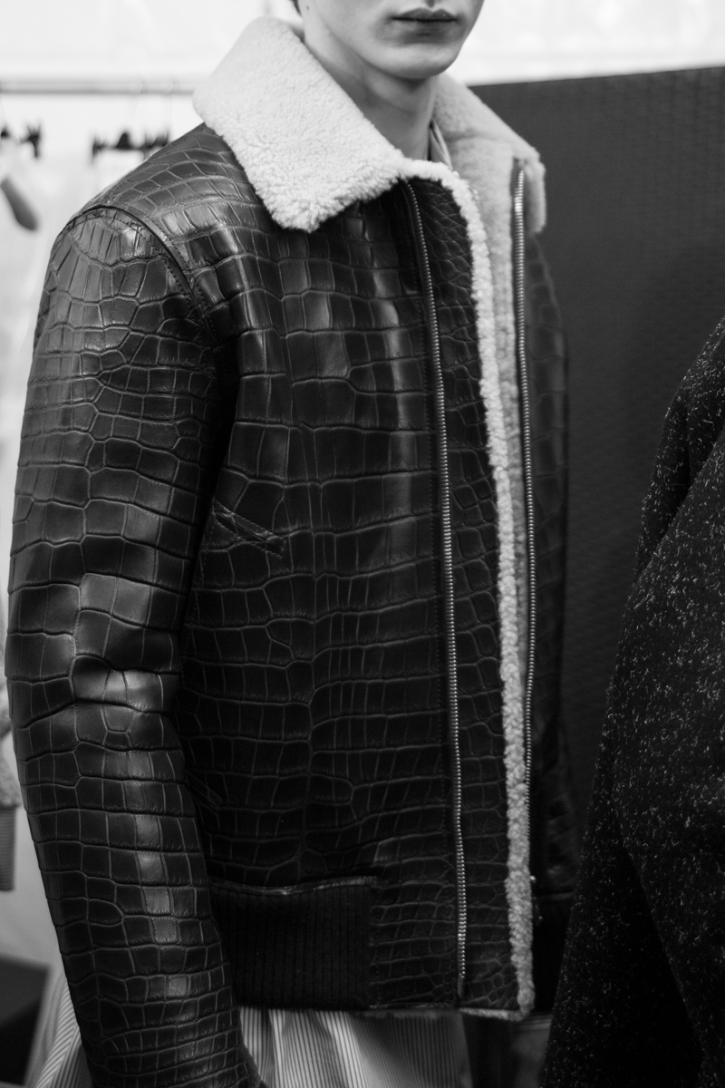 Backstage: Louis Vuitton Fall-Winter 2017 show seen by Mehdi Mendas