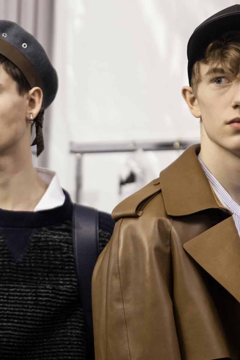 Backstage : le défilé Louis Vuitton automne-hiver 2017 vu par Mehdi Mendas