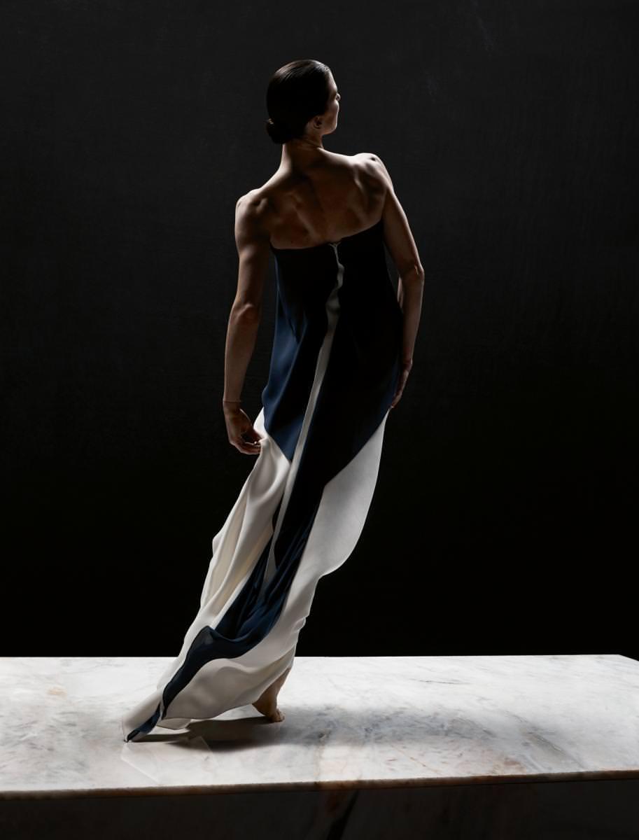 Dress, RALPH LAUREN COLLECTION.