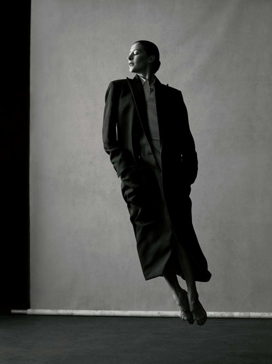 Coat and shirt, MAISON MARGIELA HOMME.