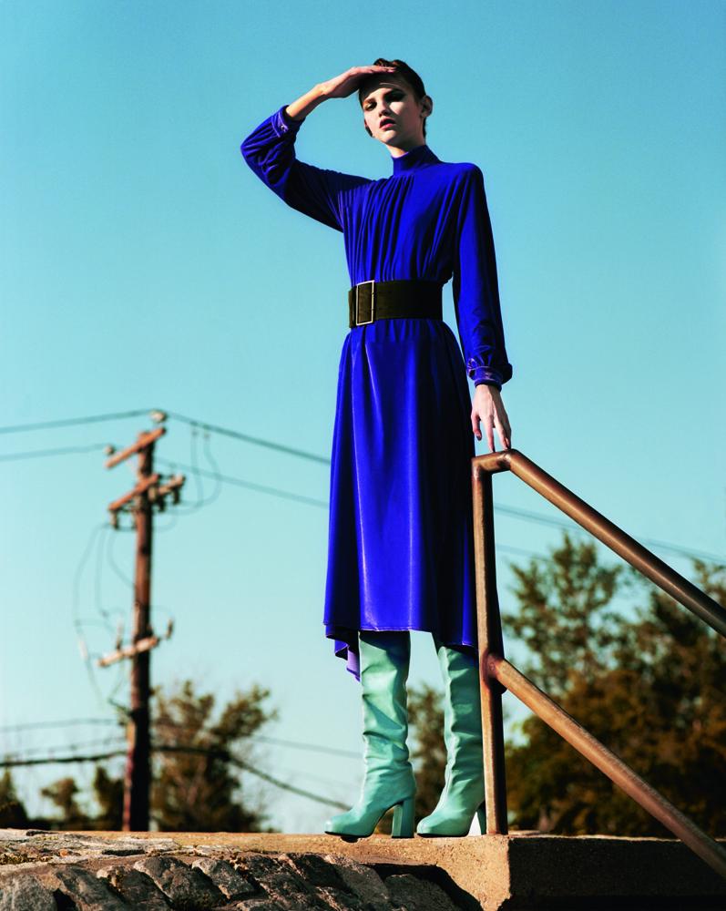 """Exclusive : """"Seule en ville"""" fashion story by Jeff Bark"""