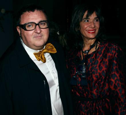 Alber Elbaz et une amie