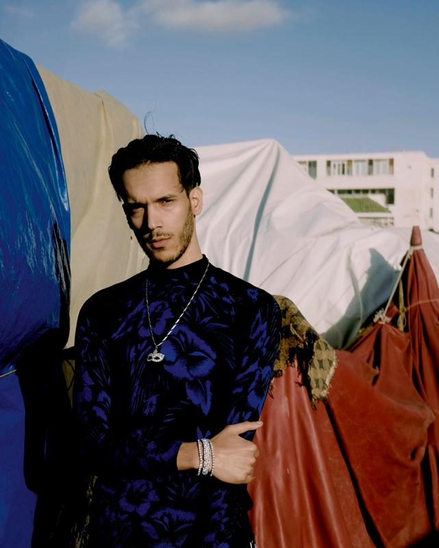 """Issam, de Casablanca lui aussi, s'est fait connaître en 2018 avec sa chanson """"Trap Beldi""""."""