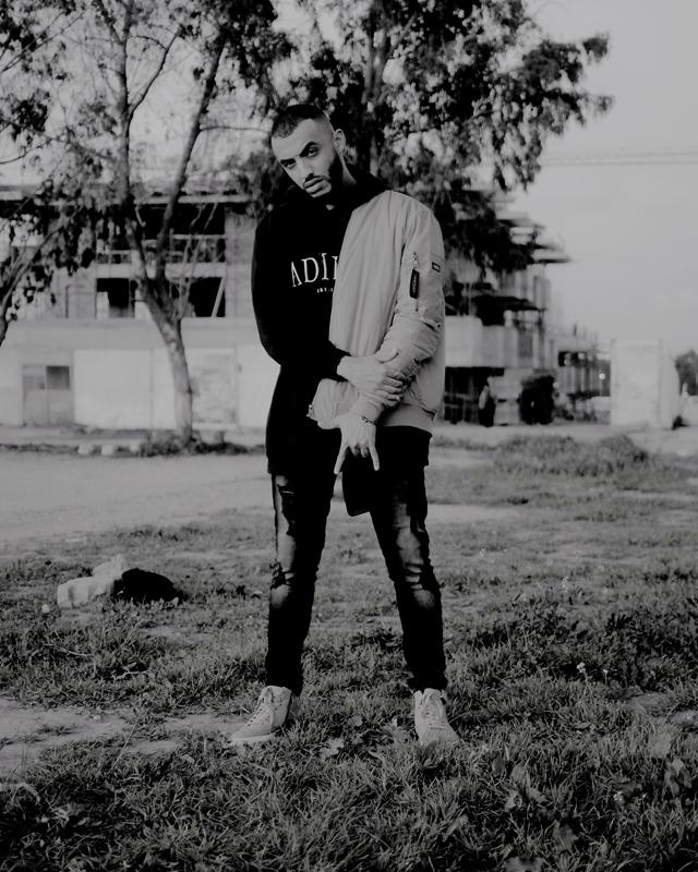 """Le rappeur marocain Damost, qui signe le titre """"Haschich"""" avec le Néerlandais Narco Polo sur """"Safar""""."""