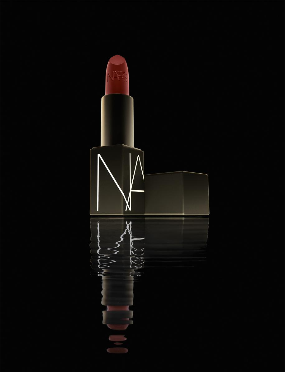 """""""Rouge à Lèvres Mat"""", immortal red, collection Nars 25,NARS."""